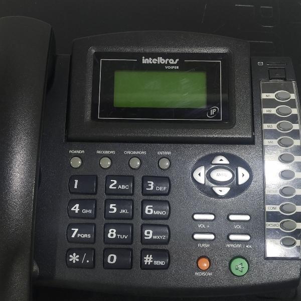 Telefone ip voip intelbras voiper