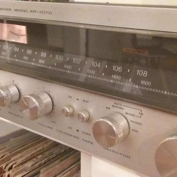 Amplificador receiver kenwood 1975
