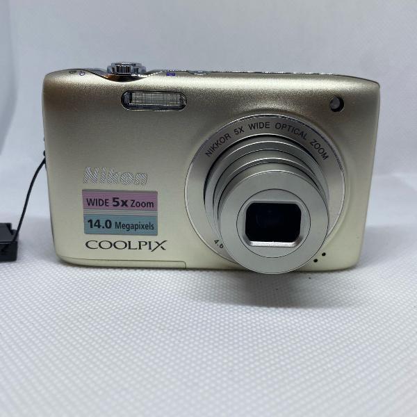 Camera digital nikon coolpix s3100 completa e em perfeito