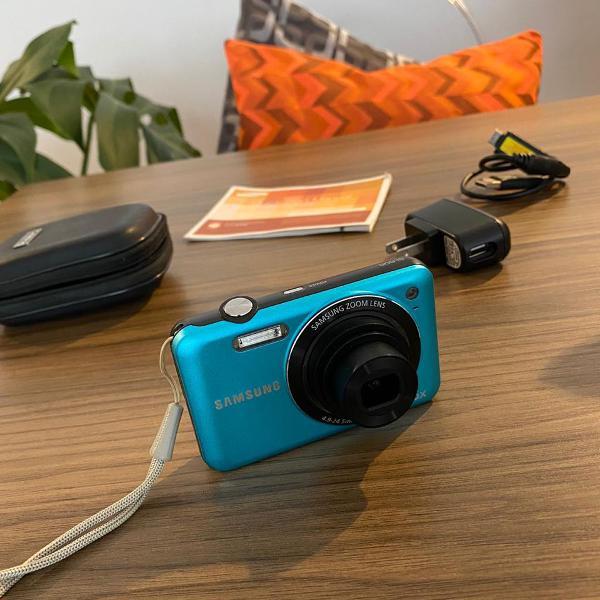 Câmera digital samsung sl605 zoom lens 5x perfeito estado