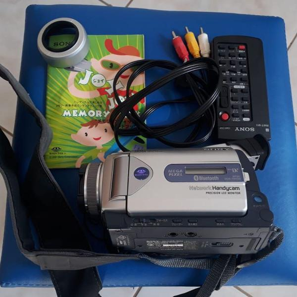 Filmadora sony network handycam dcr-trv50
