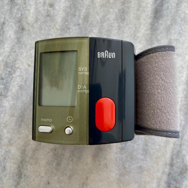 Medidor de pressão arterial braun vital scan bp 1650