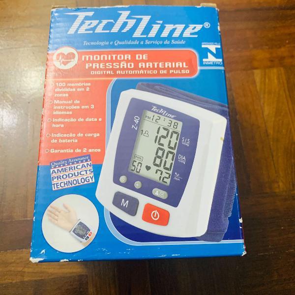 Monitor de pressão arterial digital automático de pulso