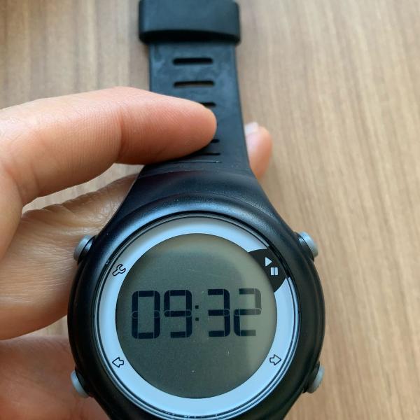 Relógio com monitor cardíaco geonaute, à prova dágua, em