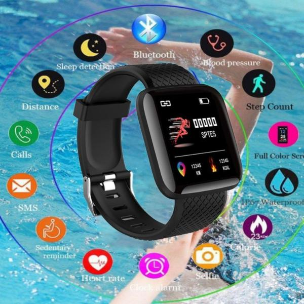 Smartwatch frequencia cardiaca pressao arterial prova dagua