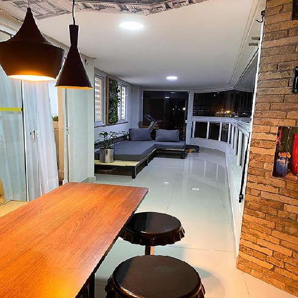 Apartamento para venda com 04 quartos quadra do mar em meia