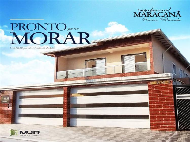Casa balneario maracana - praia grande sp