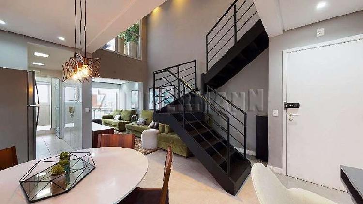 Cobertura duplex 2 dormitórios consolação