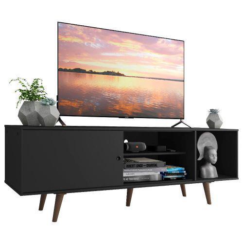Rack madesa dubai para tv at/u00e9 65 polegadas com p/u00e9s