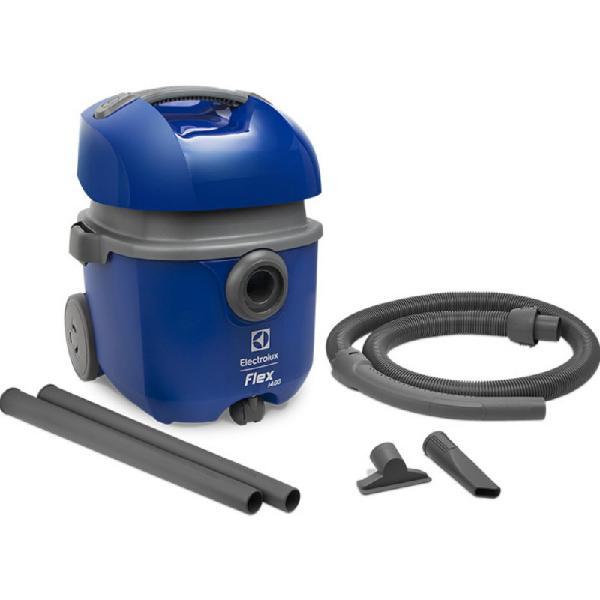 Aspirador de pó e água 1400w flex electrolux 14l com dreno