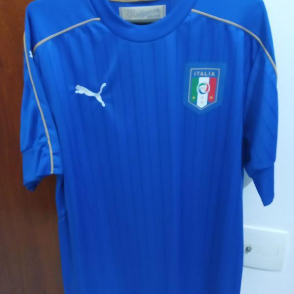 Camisa itália i oficial puma 2017 tamanho g