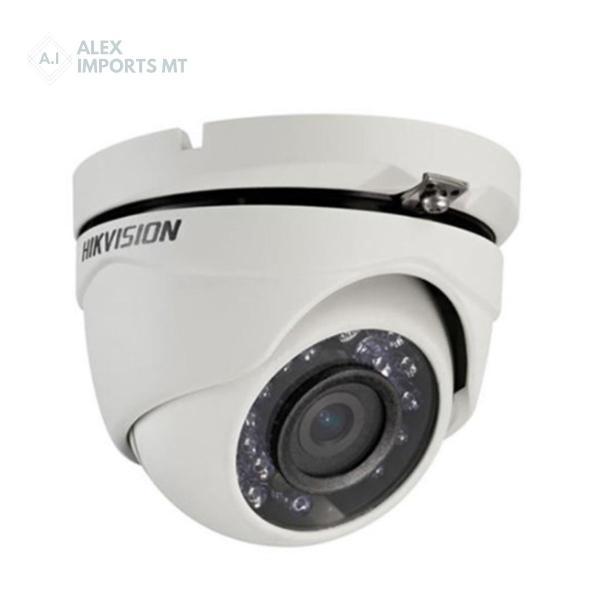 Câmera dome infravermelho de segurança hikvision 20 metros