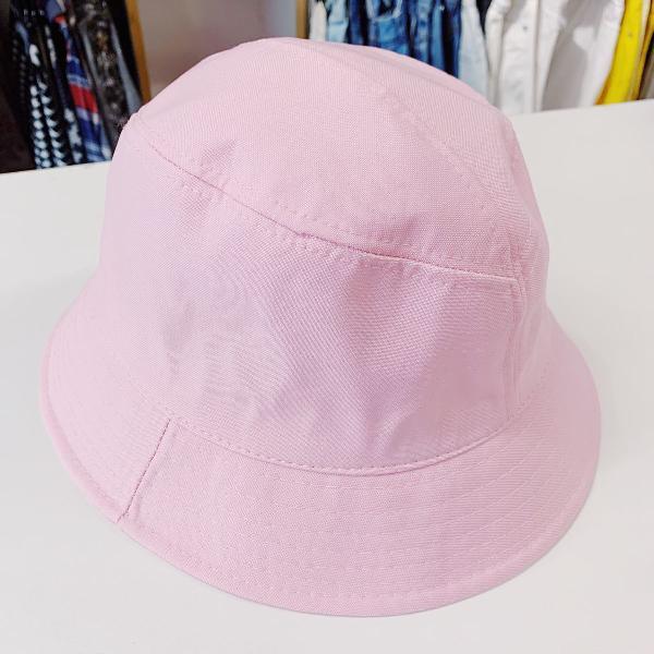 Bucket hat rosa bebê