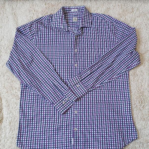 Camisa masculina peter millar