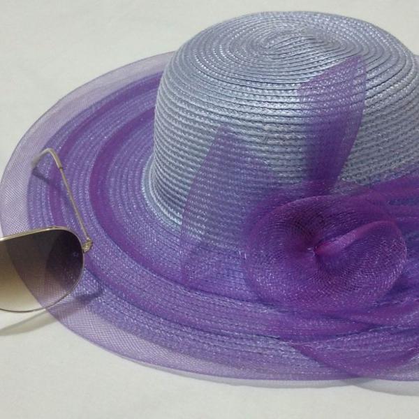 Chapéu lilás roxo