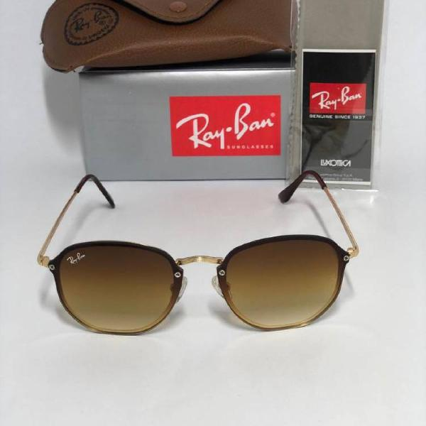 Culos ray ban hexagonal blaze degradê rb-3579 unissex