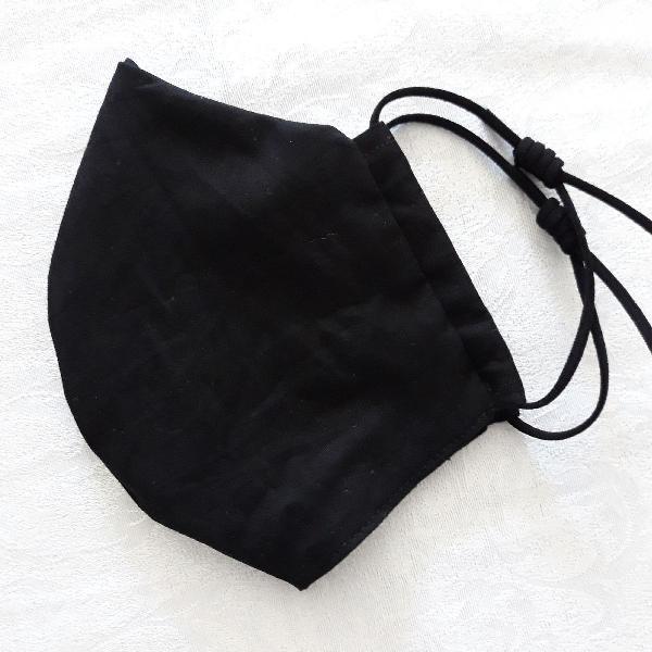 Nó regulável - 01 máscara de proteção, tecido duplo