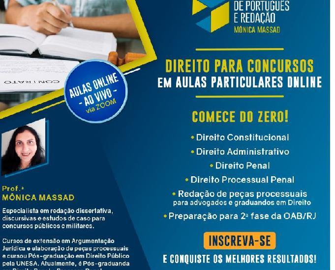 Aulas de direito constitucional para concursos e graduação