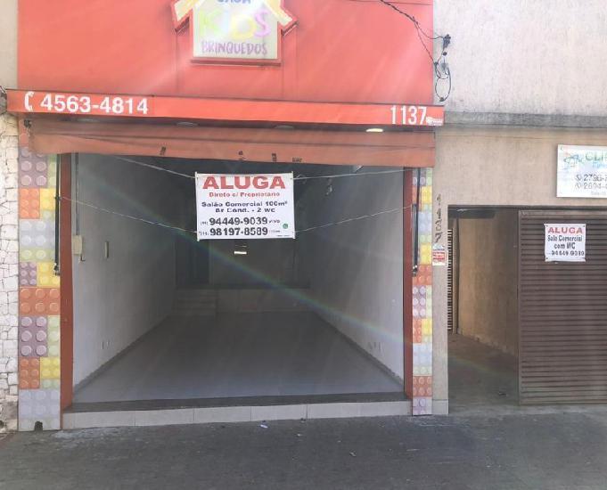 Alugo espaços comerciais - próximo ao metro belém