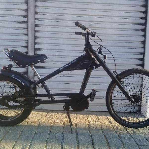 Bicicleta schwinn stingray stealth 20 polegadas chopper bike