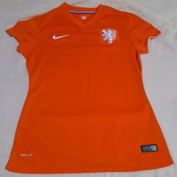 Camisa da holanda feminina - nike original p