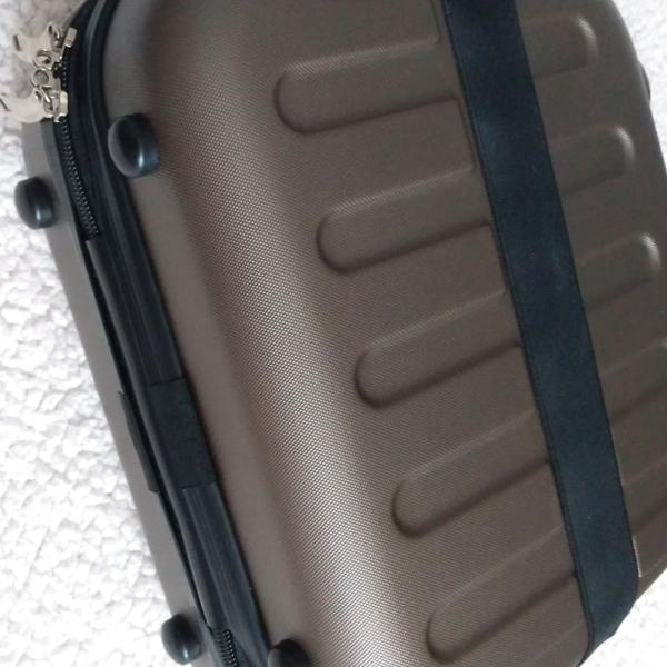 Kit 2 frasqueira nécessaire bolsa maleta de mão