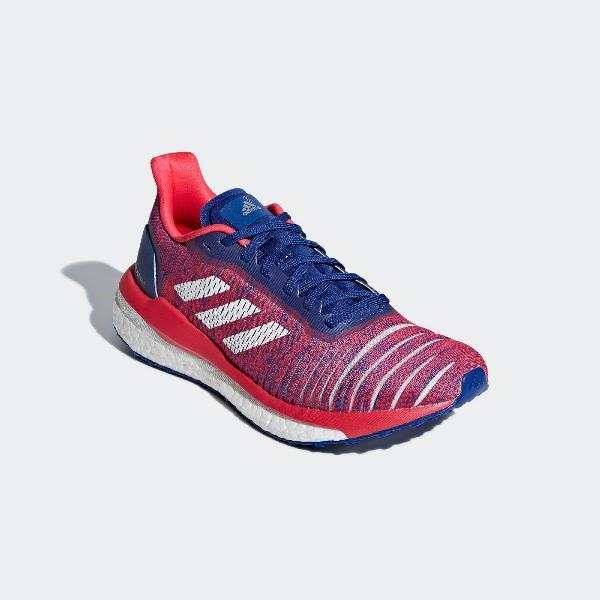 Tênis original adidas solar drive boost feminino treino e