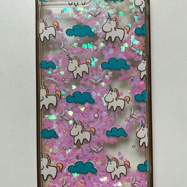 Capinha unicornio iphone 7 / 8 plus