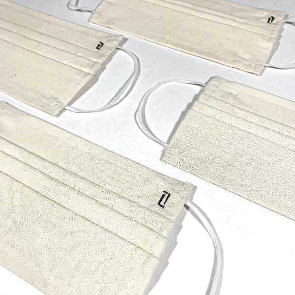 Kit 4 máscaras de tecido protetora lavável - 3 camadas
