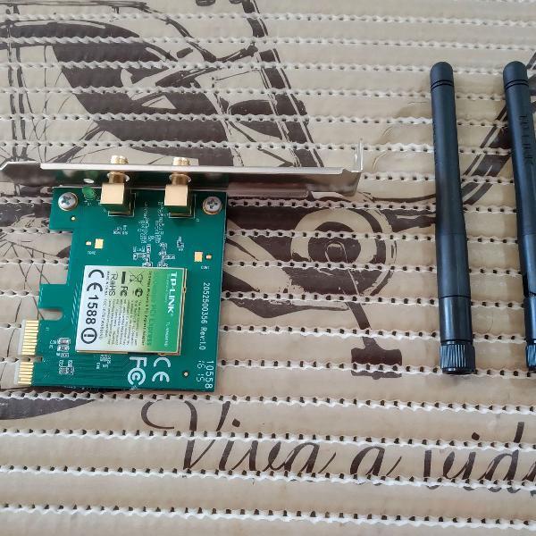 Placa de rede wireless tplink