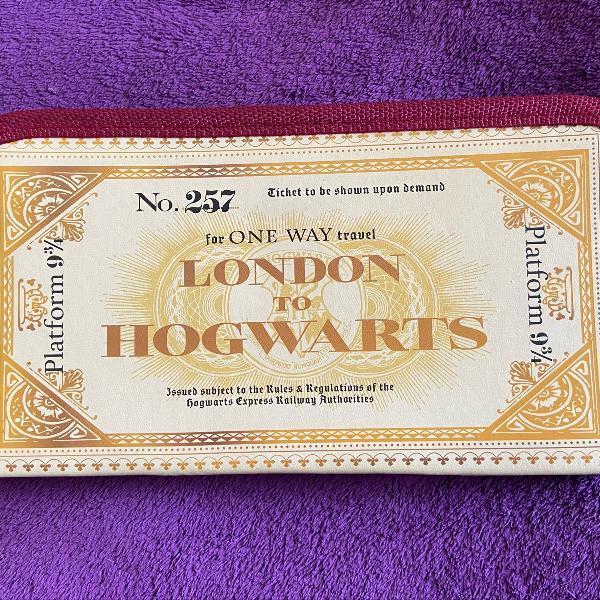 Porta passaporte harry potter
