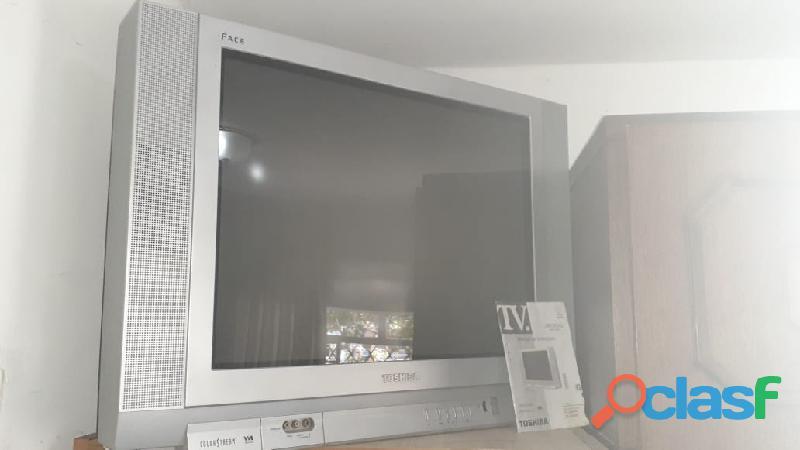"""tv 29"""" polegadas toshiba color stream face tela plana"""