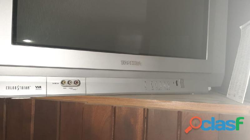 """tv 29"""" polegadas toshiba color stream face tela plana 4"""