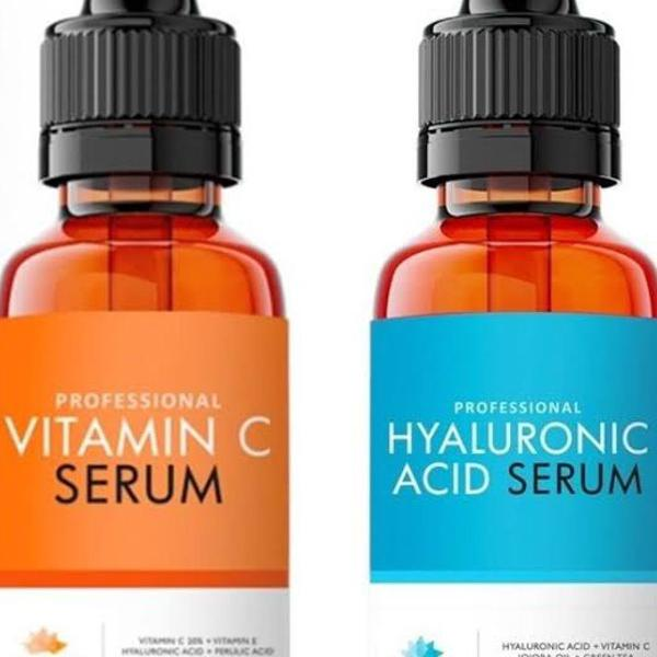 Vitamina c + ácido hialurônico