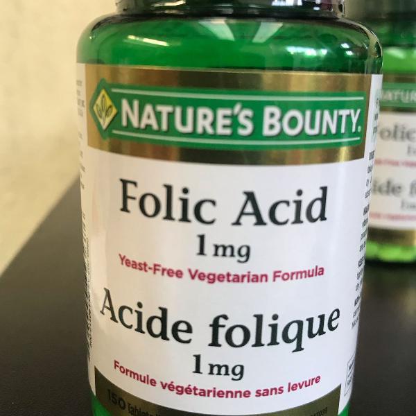 Vitamina ácido fólico