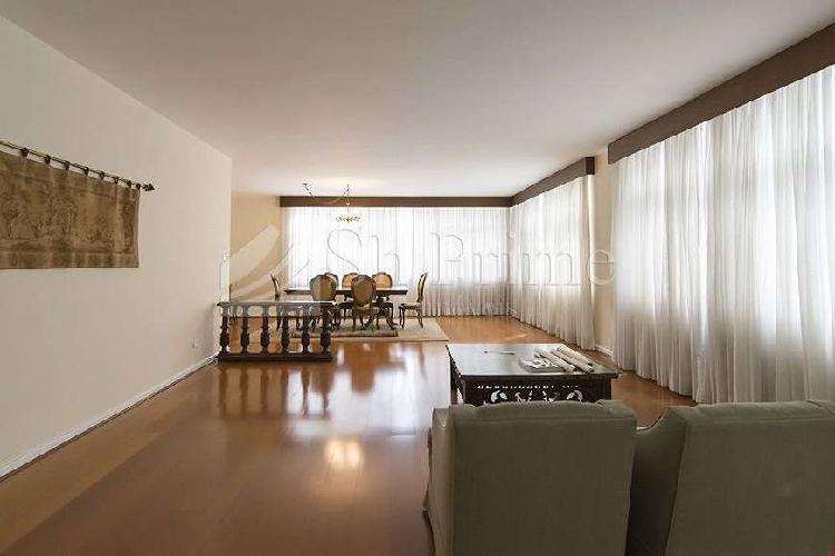 Apartamento higienópolis à venda com 3 quartos , 230 m²