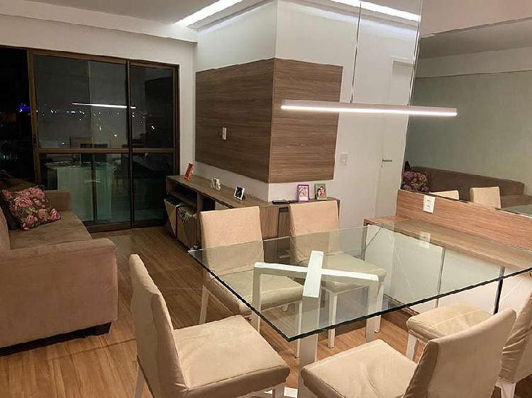 Apartamento para venda com 58 metros quadrados com 2 quartos