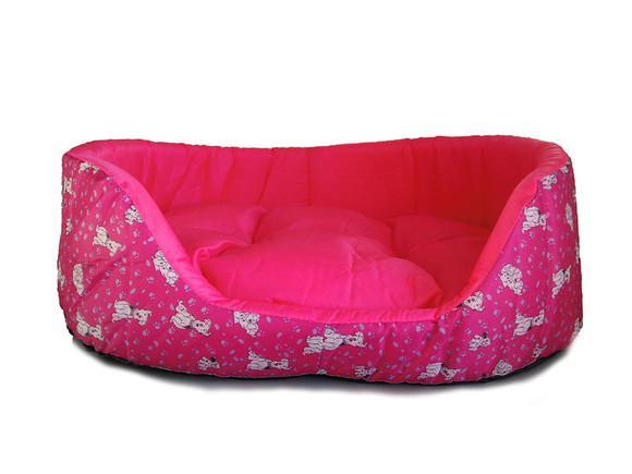 Cama europa nylon n.1 - 25 x 40 cm - rosa cachorro