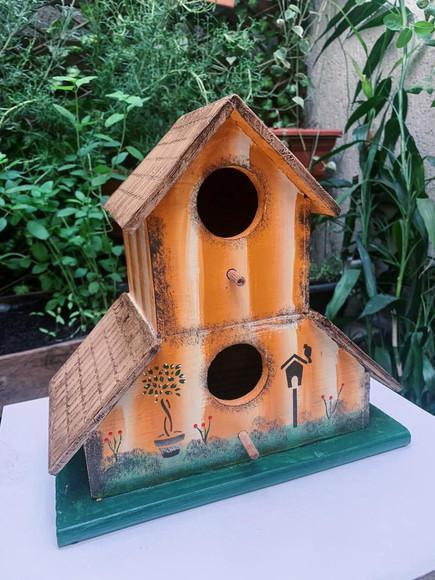 """Casa de passarinho """"ipê amarelo"""""""