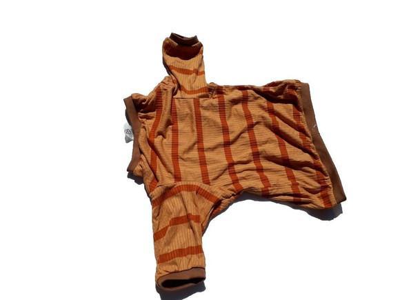 Roupa cachorro blusa/camisa/manga longa marrom pp/p/m/g/gg