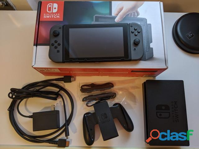 Nintendo switch 32 gb completo com garantia
