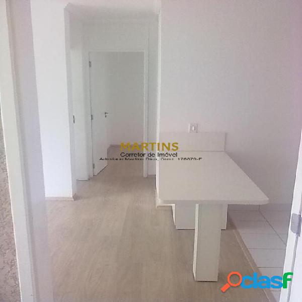 Apartamento 52m² - 2 dormitórios - condomínio cidade jardim - cidade jardim