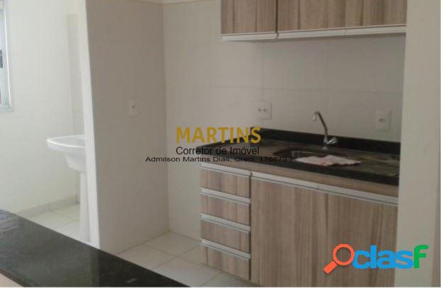 Apartamento 54m² - 2 dormitórios - residencial jacarandá - vila zizinha
