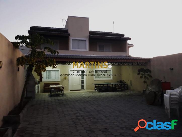 Casa 160m² - 2 dormitórios - villa branca - permuta até 240mil