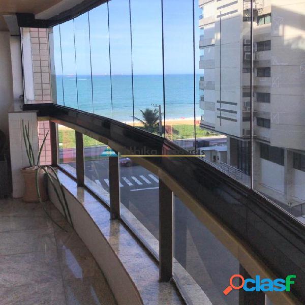 Apartamento com vista mar praia da costa de 4 quartos 2 suítes
