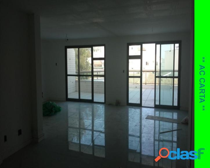 Cobertura varandão, salão, 3 quartos, garagem- recreio