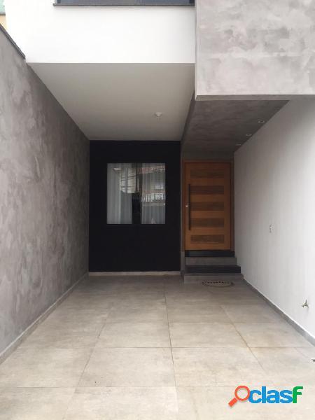 Sobrado anália franco 3 suítes 2 vagas - 130 m²