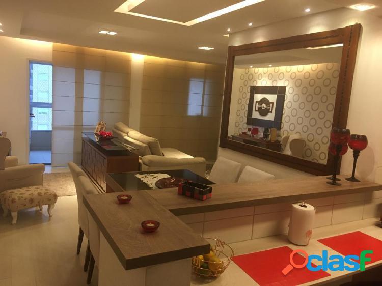 Apartamento 3 dormitórios - alto padrão - lazer completo - ponta da praia
