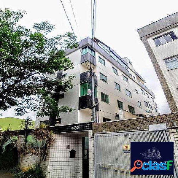 Excelente apartamento com área privativa 03 quartos no bairro cabral