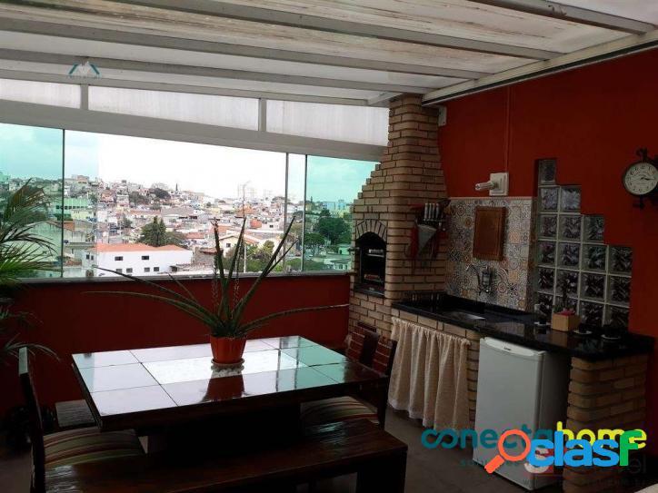 Cobertura de 106 m² 3 dormitórios c/ suite e 1 vaga na vila paranaguá